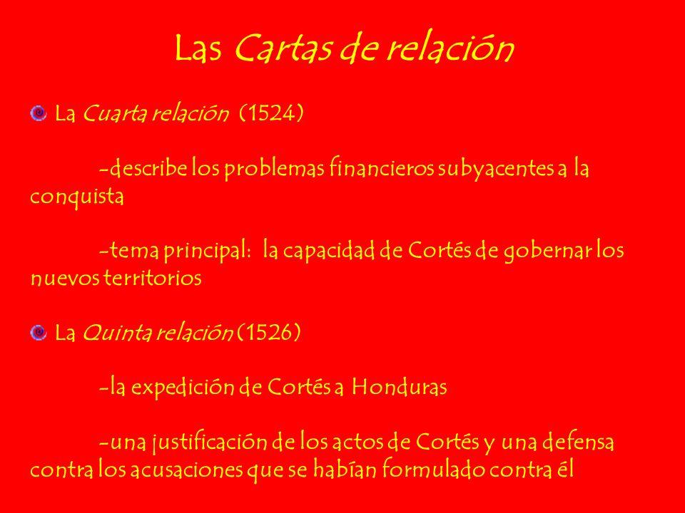 Las Cartas de relación La Cuarta relación (1524)