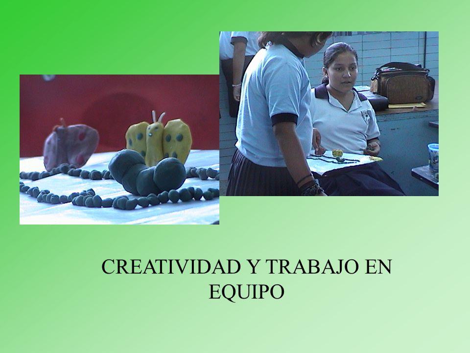CREATIVIDAD Y TRABAJO EN EQUIPO