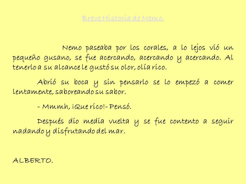 Breve Historia de Nemo.