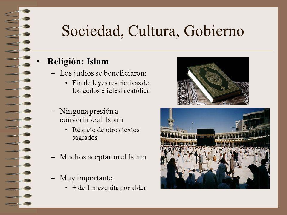 Sociedad, Cultura, Gobierno