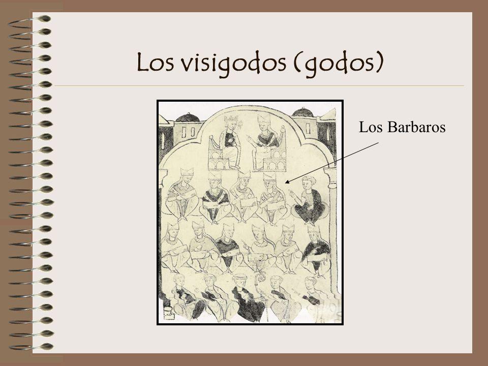 Los visigodos (godos) Los Barbaros