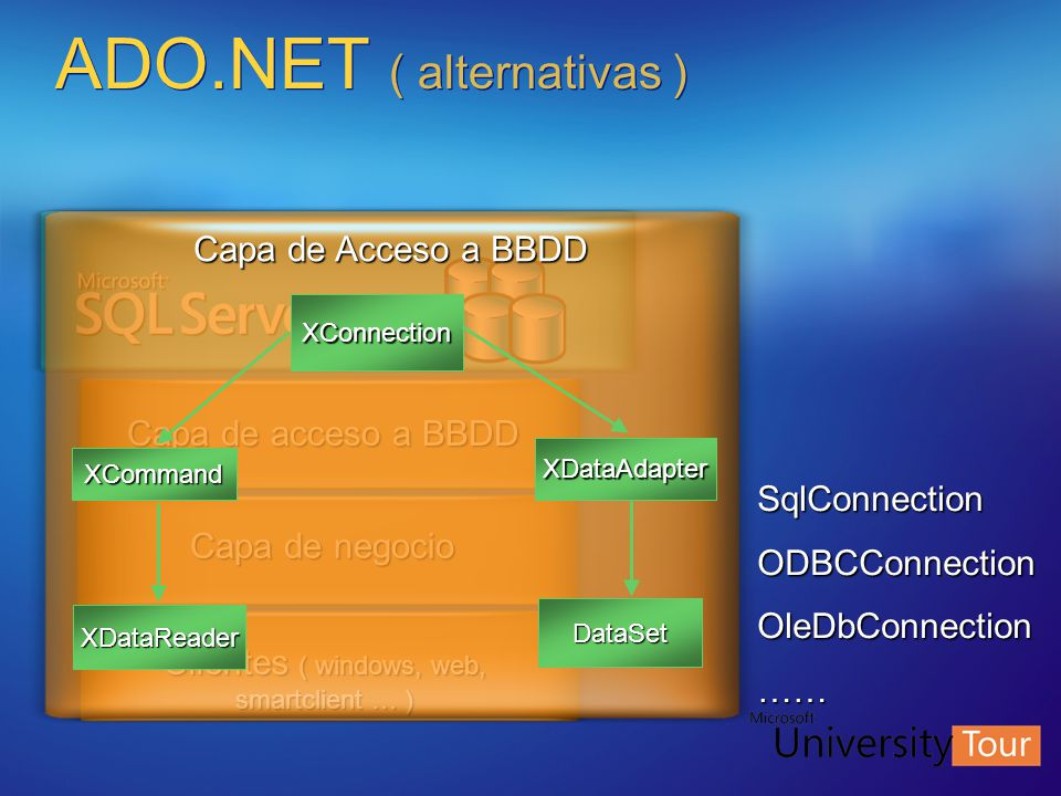 ADO.NET ( alternativas )