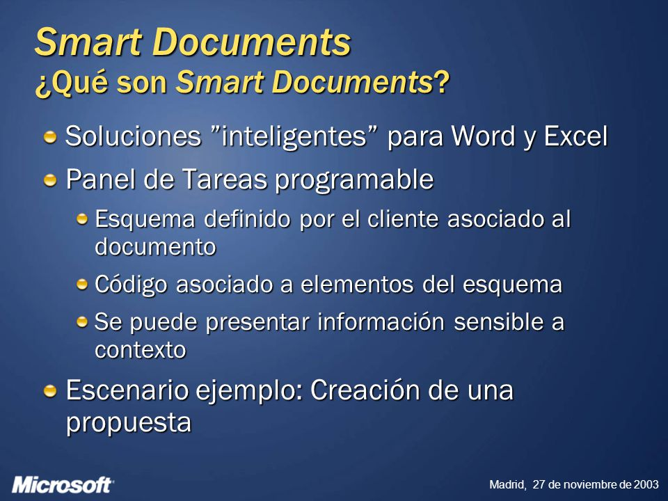 Smart Documents ¿Qué son Smart Documents