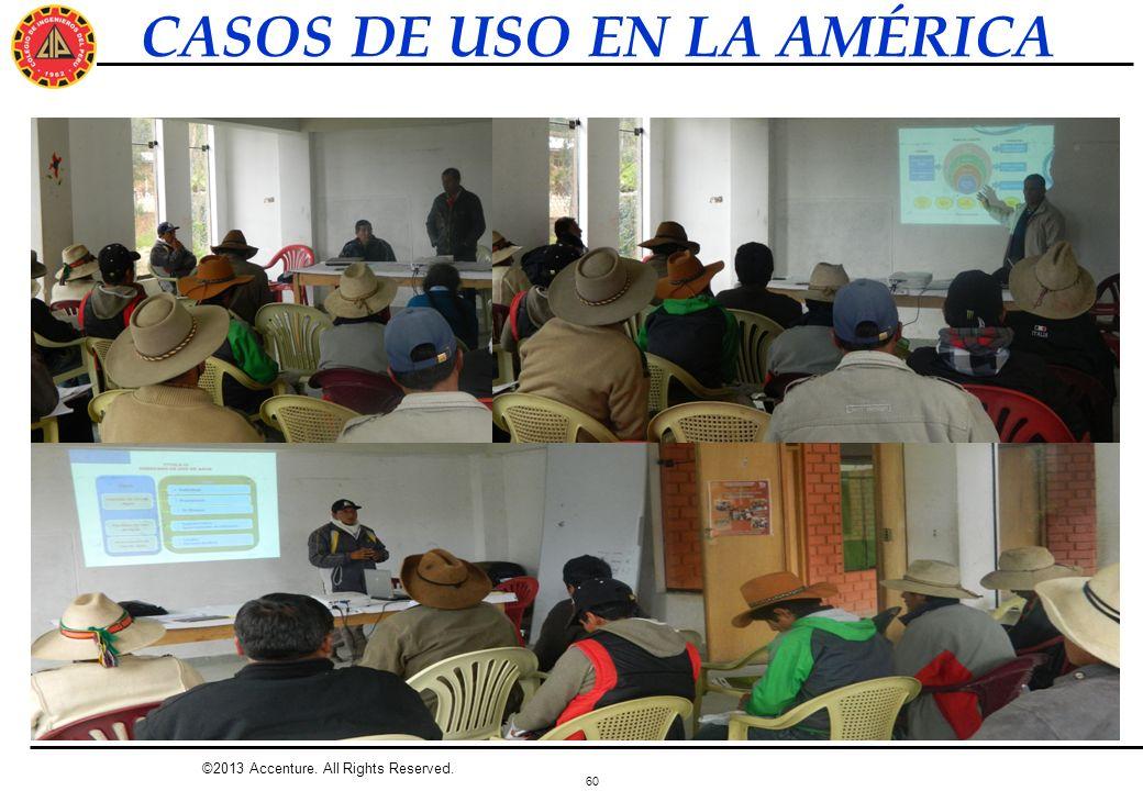 CASOS DE USO EN LA AMÉRICA