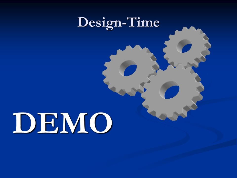 Design-Time DEMO
