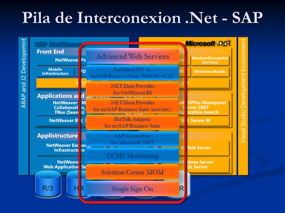 Pila de Interconexion .Net - SAP