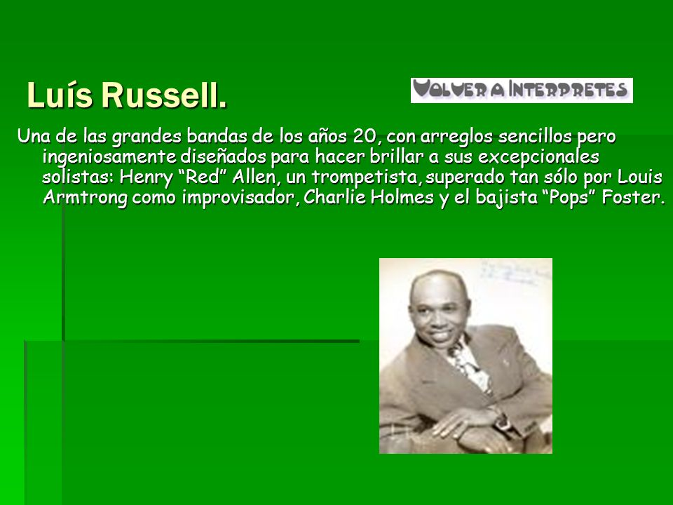 Luís Russell.
