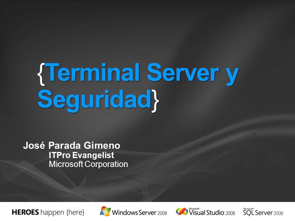 {Terminal Server y Seguridad}