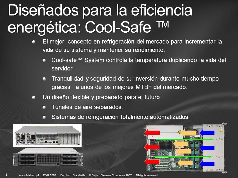 Diseñados para la eficiencia energética: Cool-Safe ™