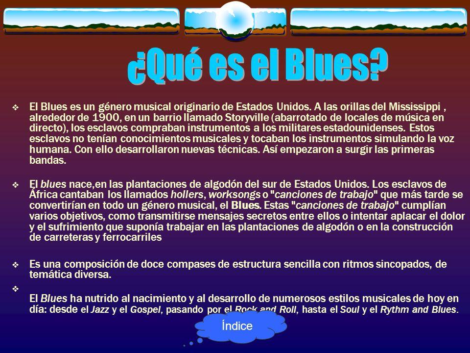 ¿Qué es el Blues