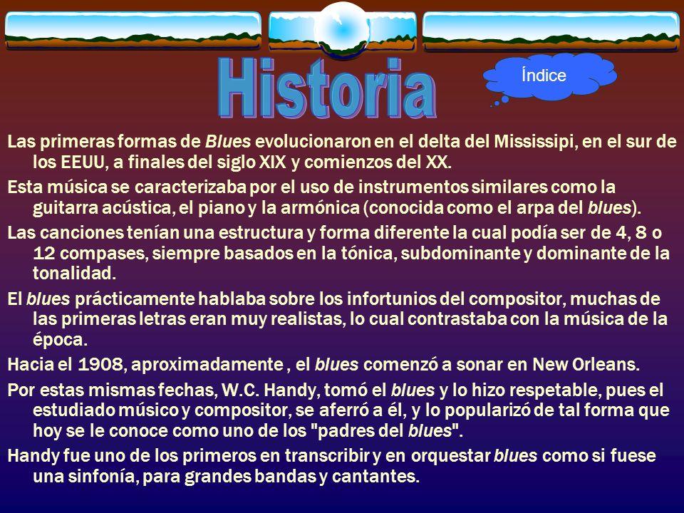 Índice Historia.
