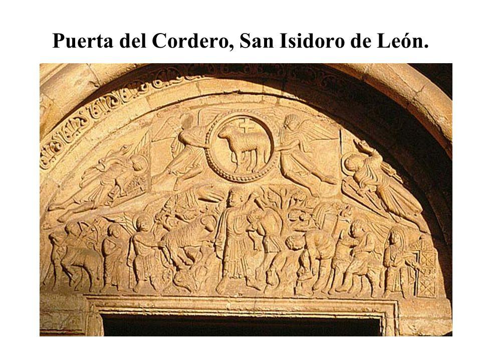 Puerta del Cordero, San Isidoro de León.
