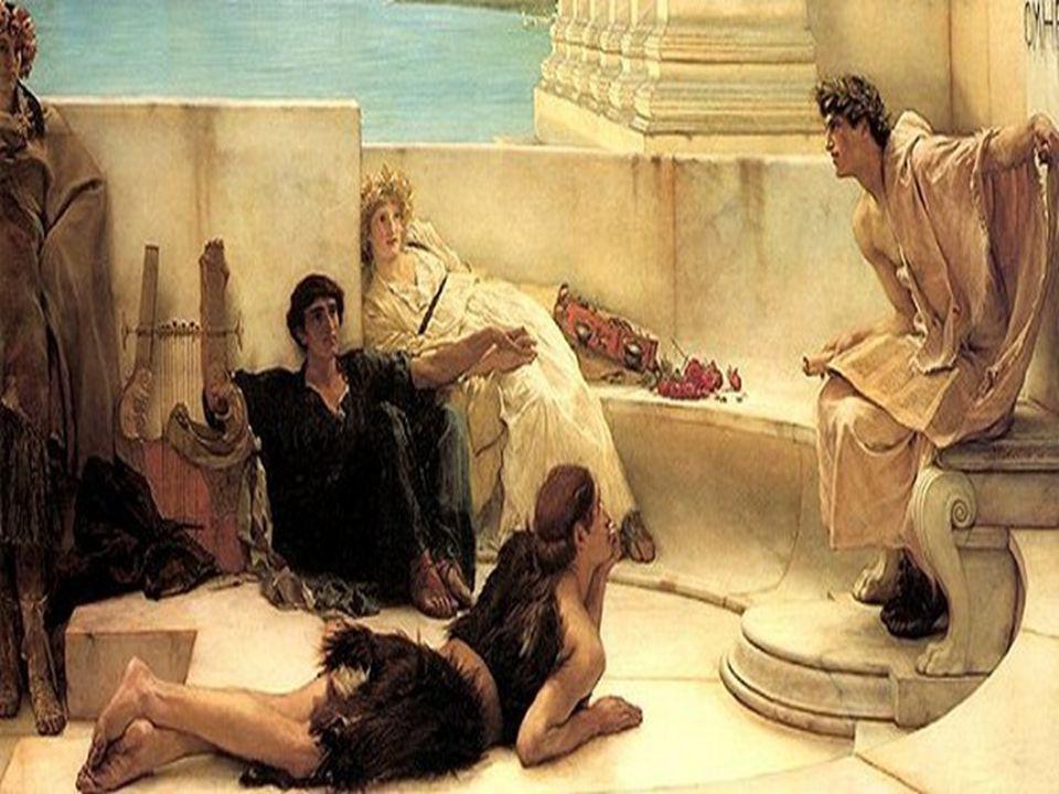 «Canta, oh diosa, la cólera aciaga de Aquiles el Pelida, que a los Aqueos innumerables desgracias causó y arrojó al Hades muchas valerosas almas de héroes, cuyos cuerpos sirvieron de presa a los perros y a las aves todas; que así los designios de Zeus se iban cumpliendo, desde el día aquél en que se separaron, tras una disputa, el Atrida, señor de los hombres, y el divino Aquiles.