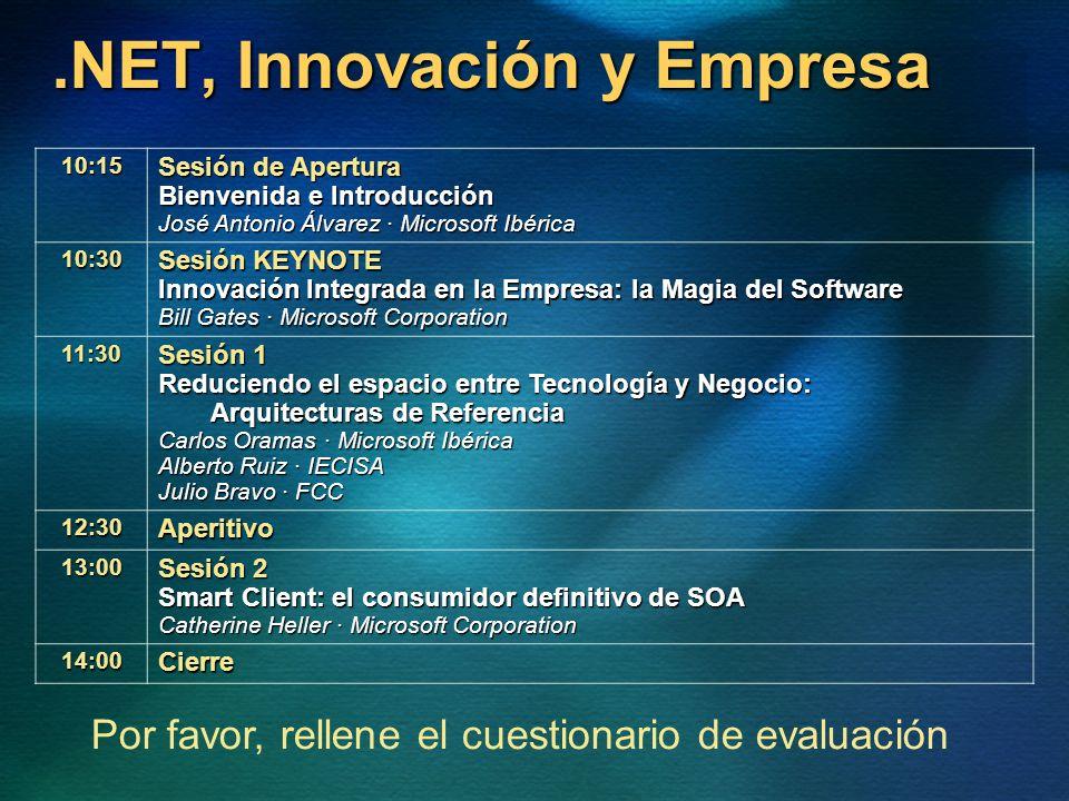 .NET, Innovación y Empresa