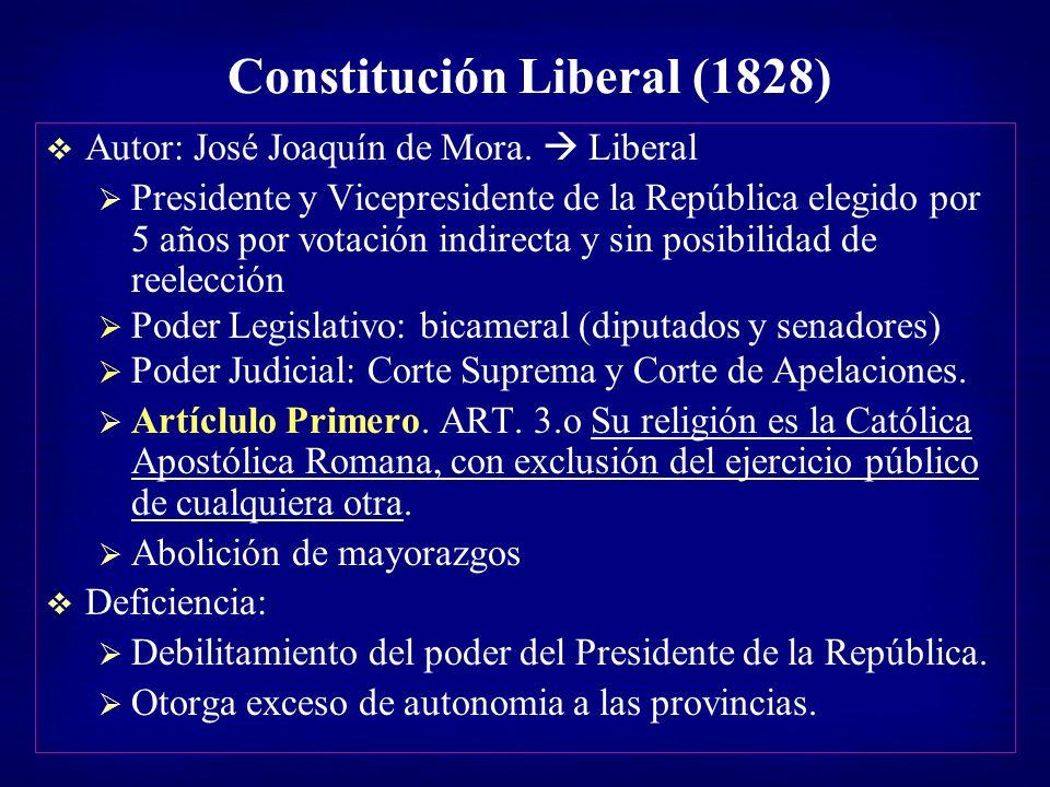 Constitución Liberal (1828)