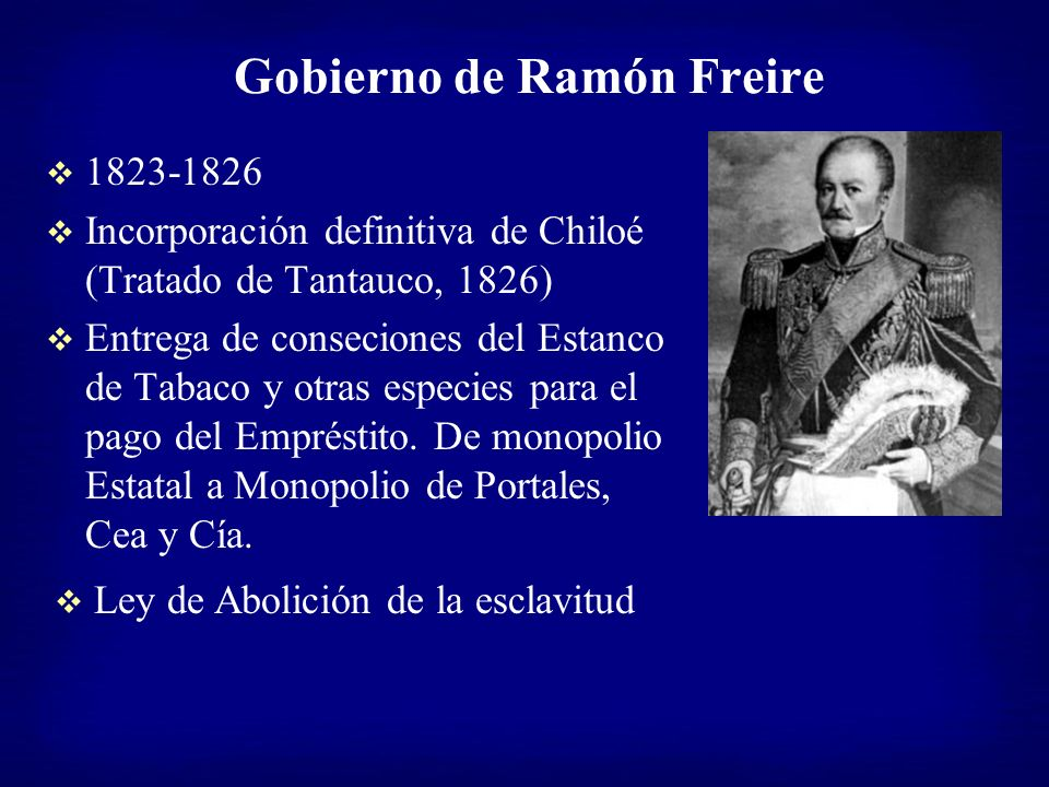 Gobierno de Ramón Freire