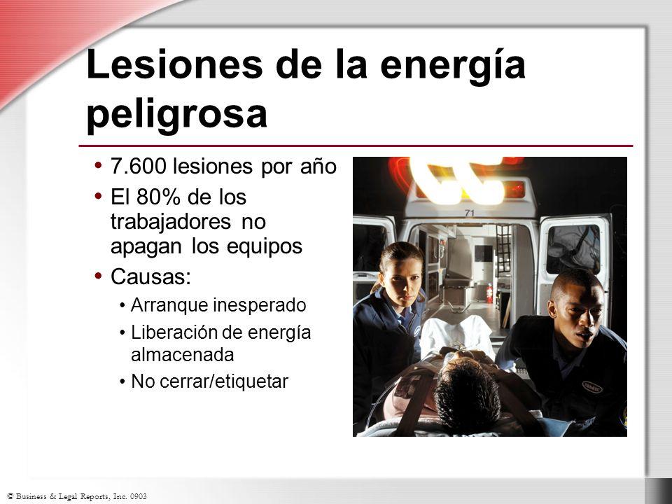 Lesiones de la energía peligrosa