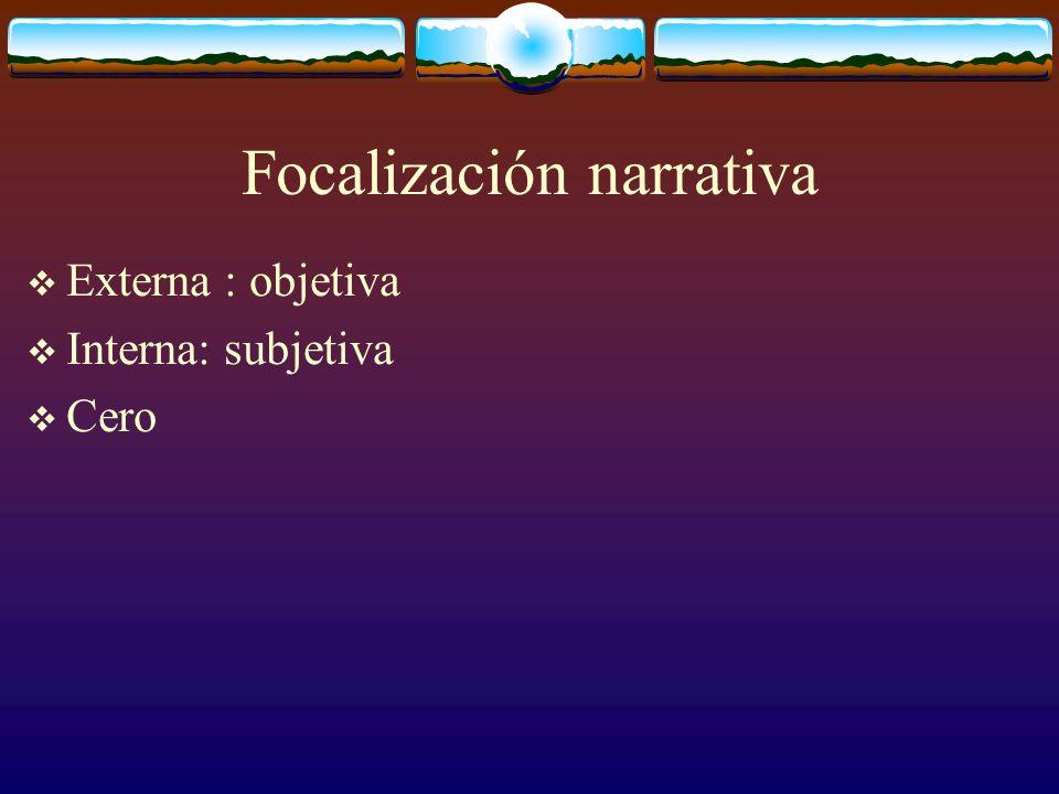 Focalización narrativa