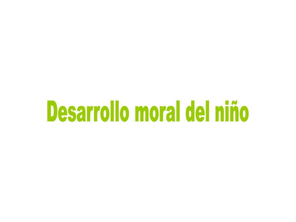 Desarrollo moral del niño