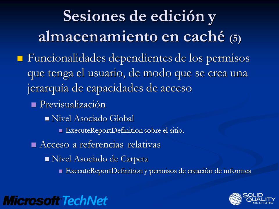 Sesiones de edición y almacenamiento en caché (5)