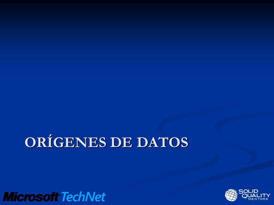 Orígenes de datos