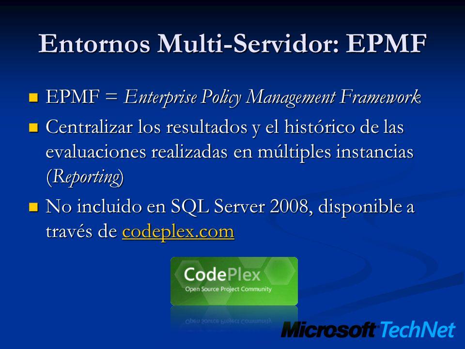 Entornos Multi-Servidor: EPMF