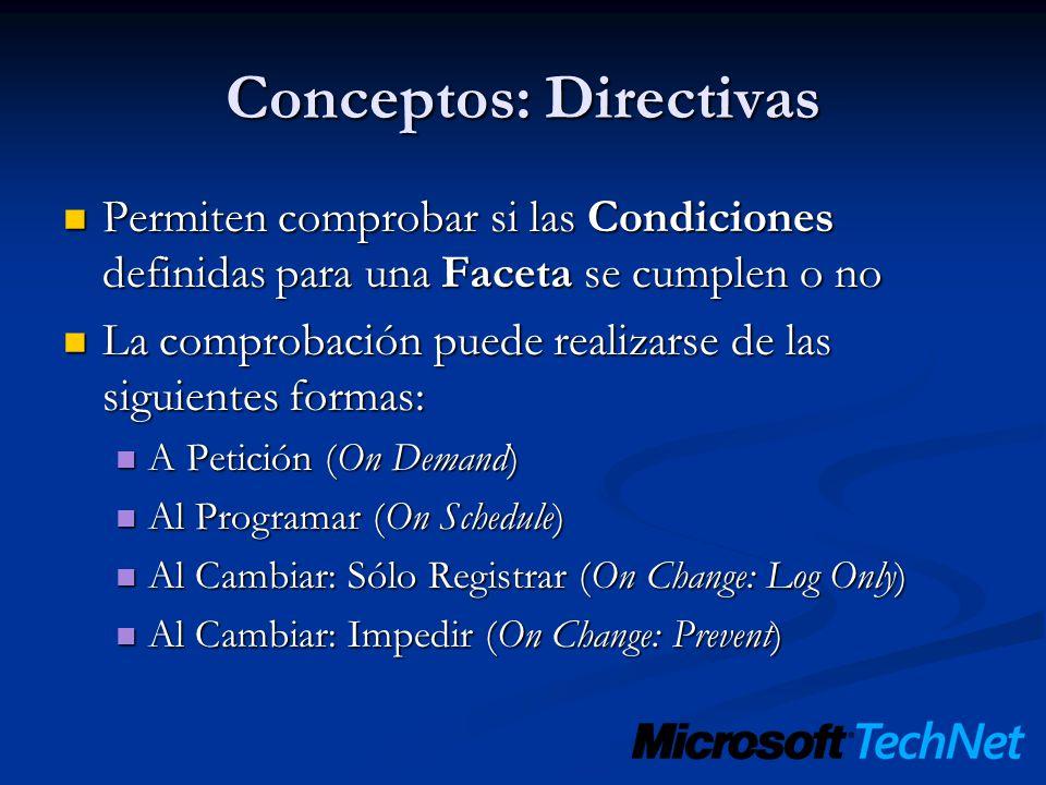 Conceptos: Directivas