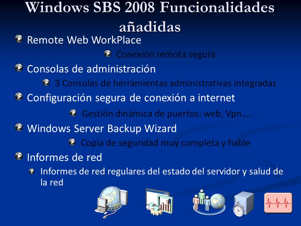 Windows SBS 2008 Funcionalidades añadidas