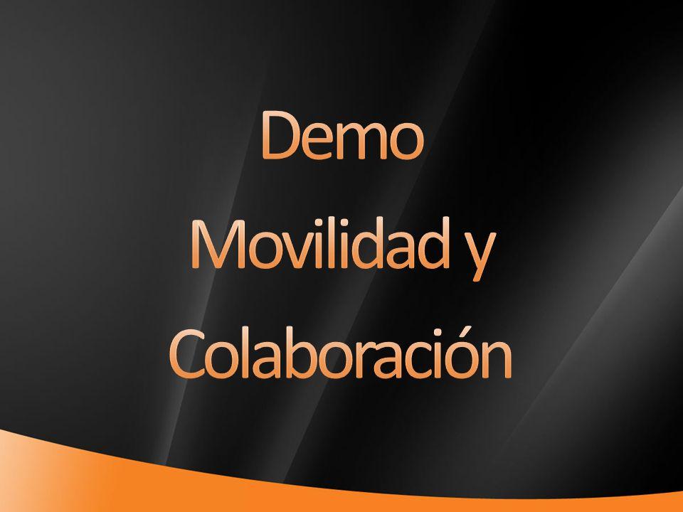 Demo Movilidad y Colaboración 4/1/2017 7:05 PM