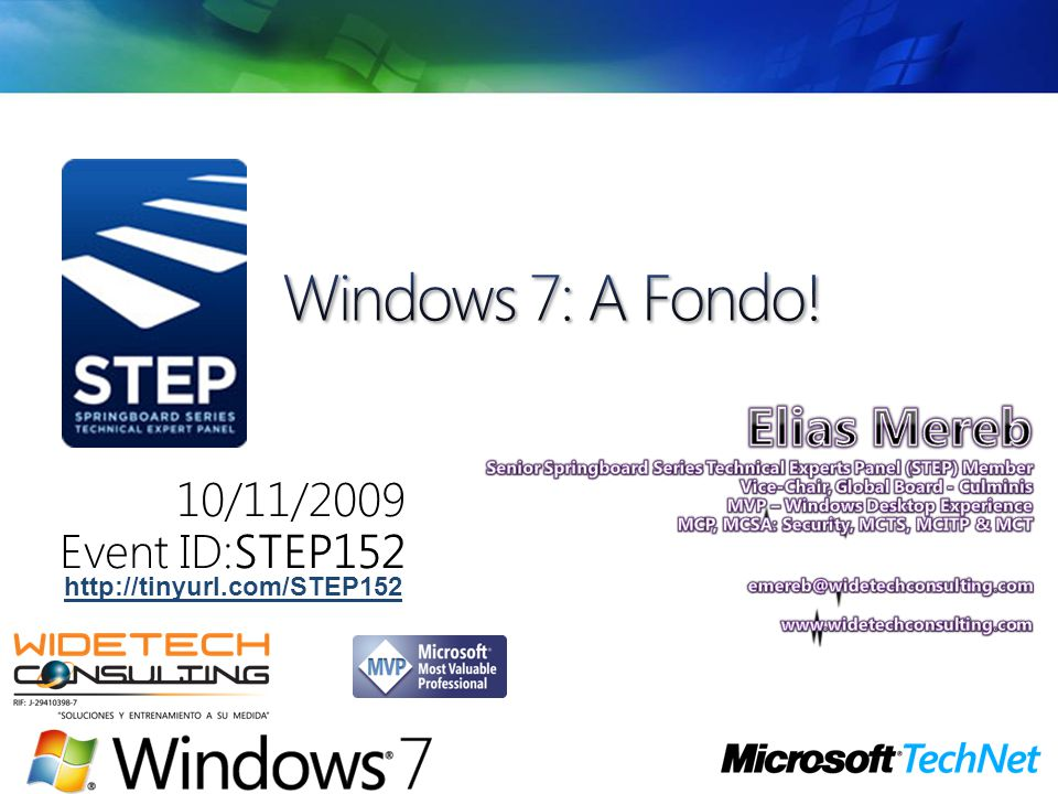 Windows 7: A Fondo!
