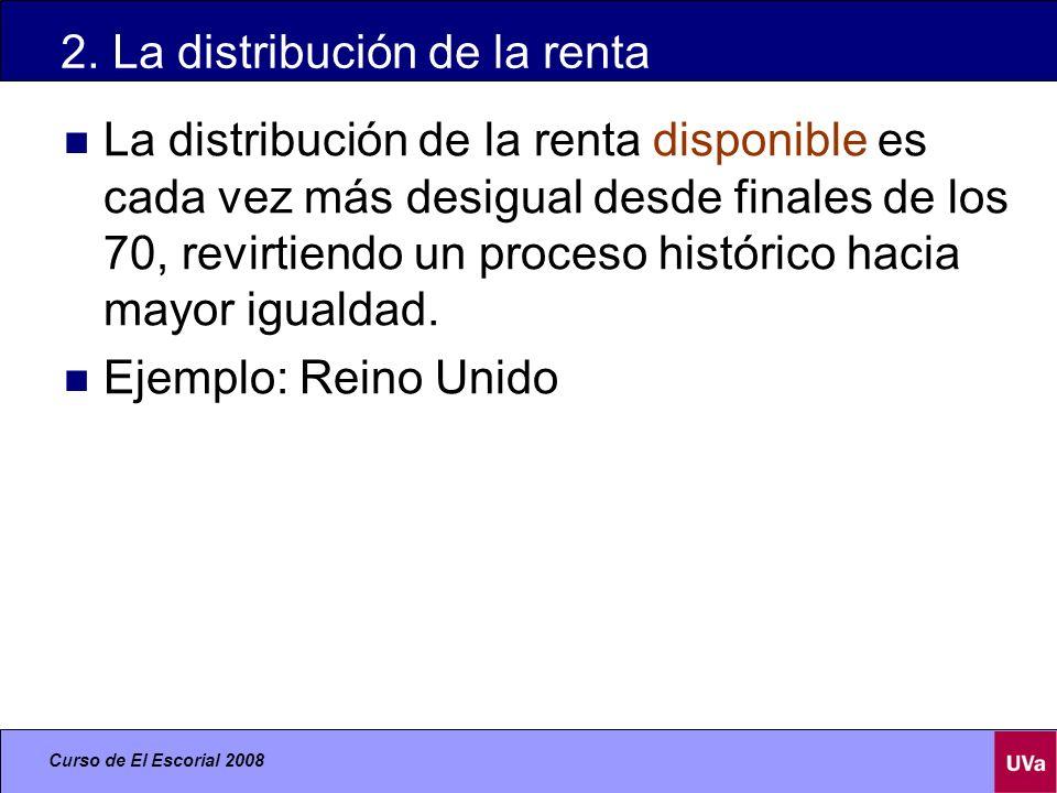 2. La distribución de la renta