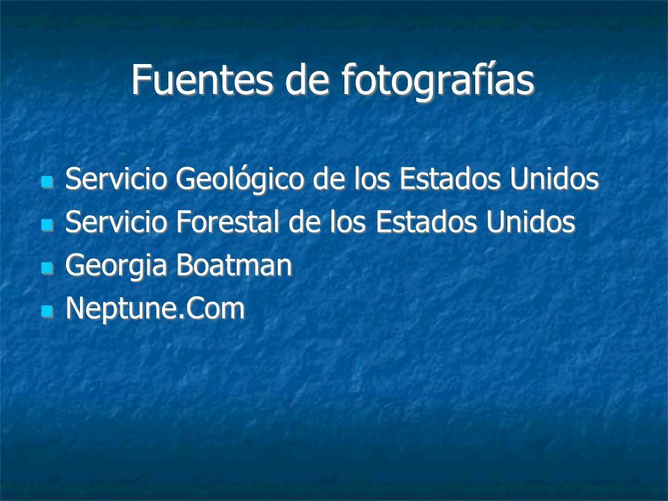 Fuentes de fotografías