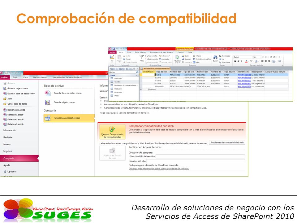 Comprobación de compatibilidad