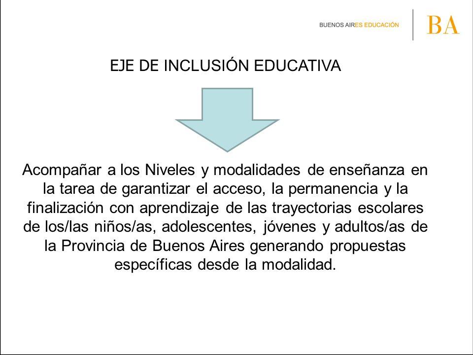 EJE DE INCLUSIÓN EDUCATIVA