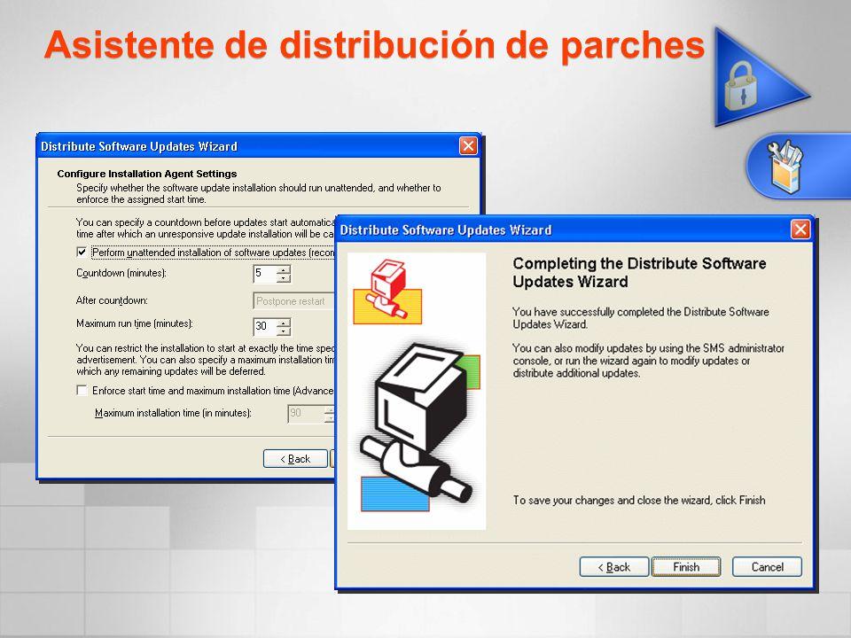Asistente de distribución de parches