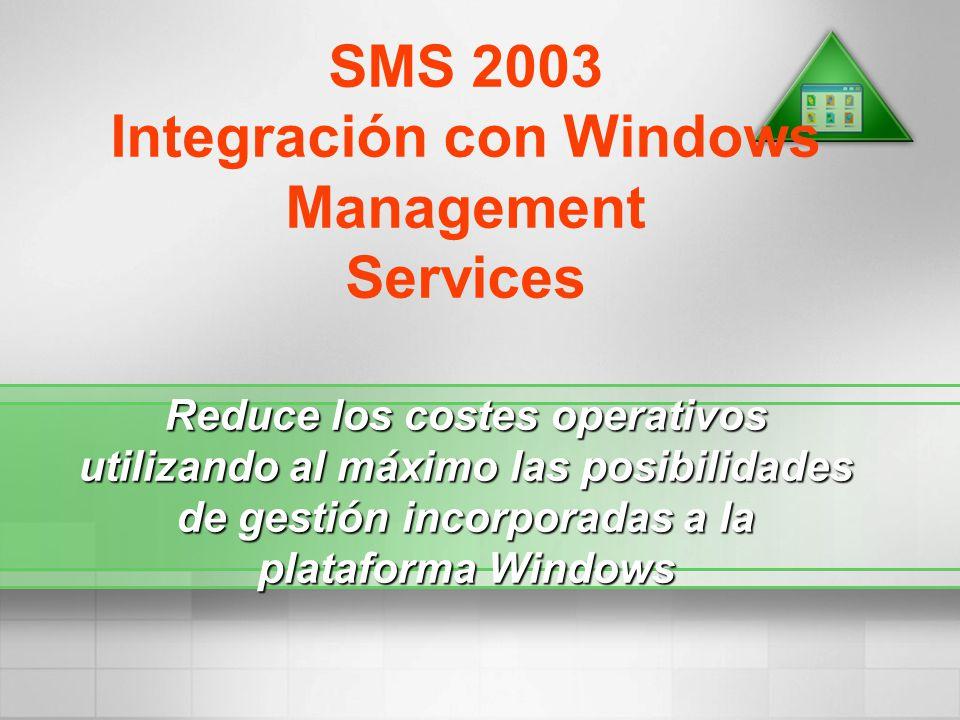Integración con Windows Management Services