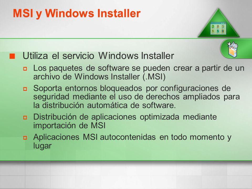 MSI y Windows Installer