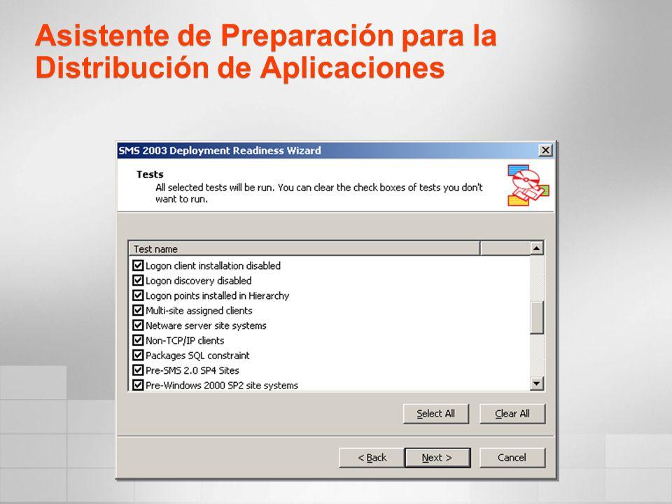 Asistente de Preparación para la Distribución de Aplicaciones
