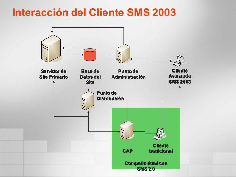 Interacción del Cliente SMS 2003