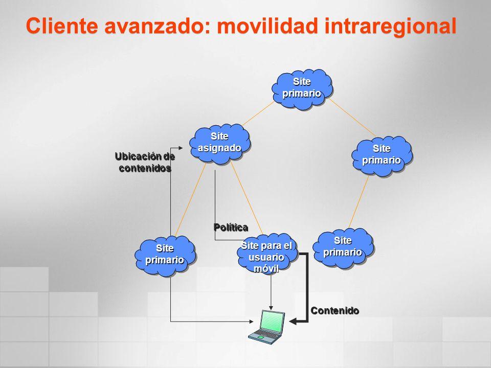 Cliente avanzado: movilidad intraregional