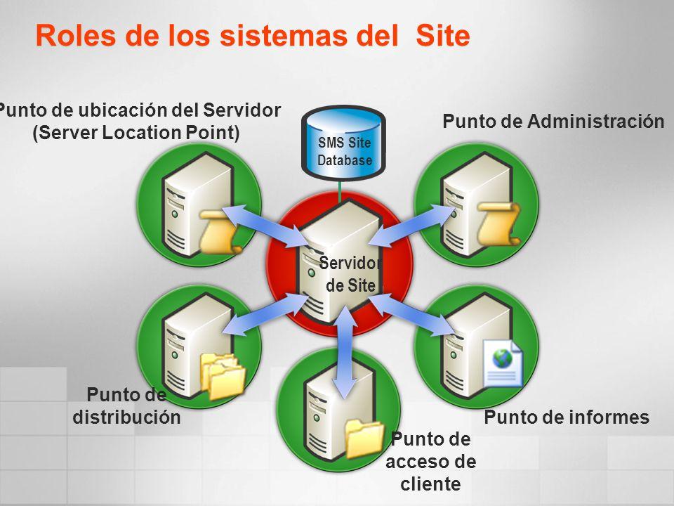 Roles de los sistemas del Site