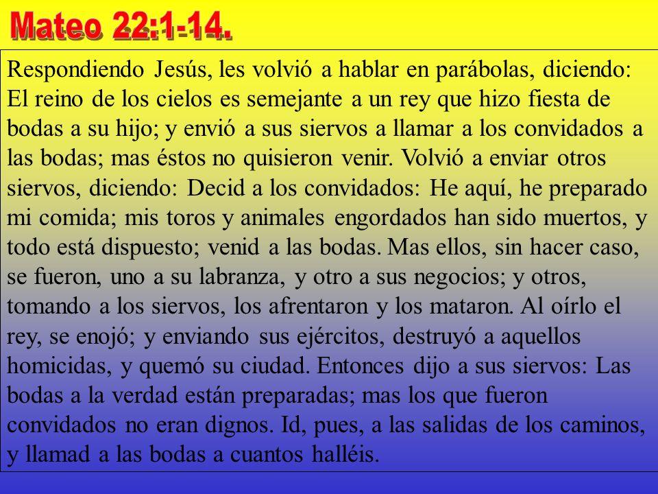 Mateo 22:1-14.