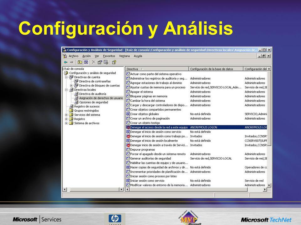 Configuración y Análisis