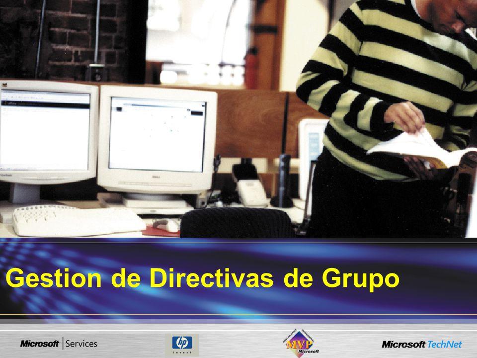 Gestion de Directivas de Grupo