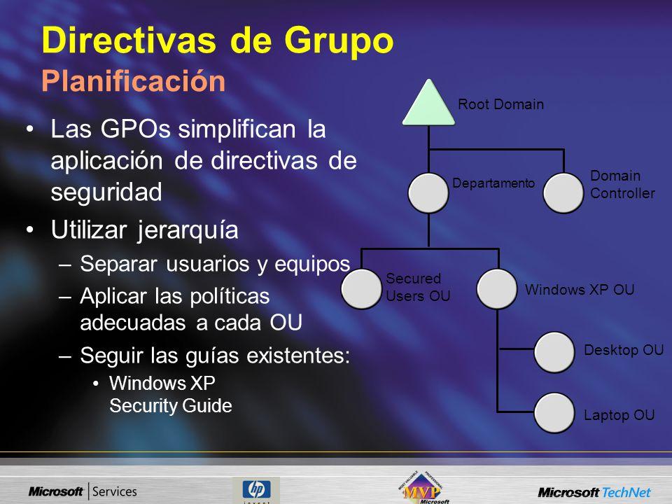 Directivas de Grupo Planificación