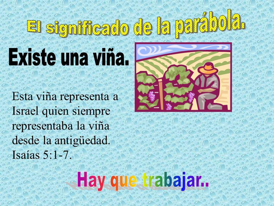El significado de la parábola.