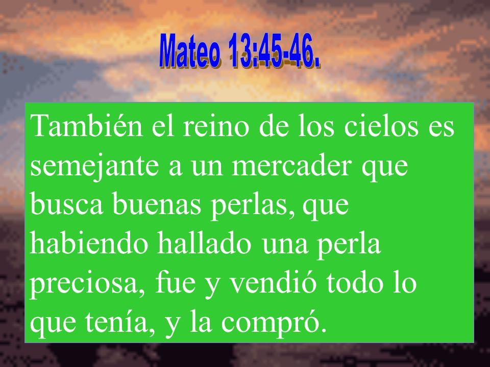 Mateo 13:45-46.