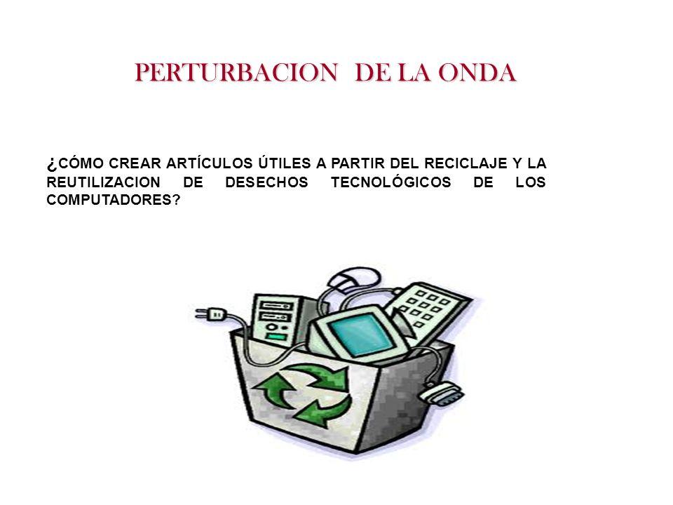 PERTURBACION DE LA ONDA