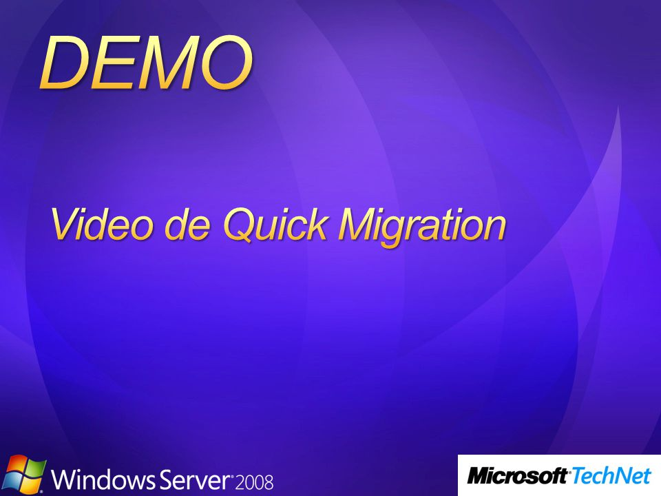 Video de Quick Migration
