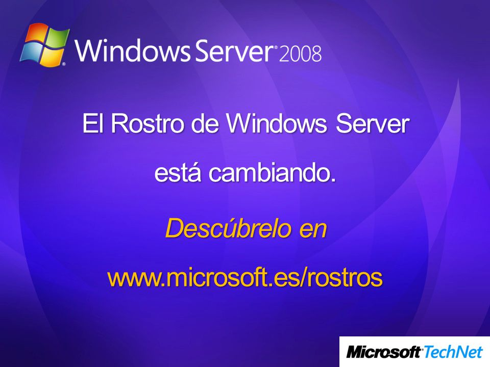 El Rostro de Windows Server